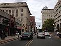 2014-08-30 10 59 50 View west along East State Street near Warren Street in Trenton, New Jersey.JPG