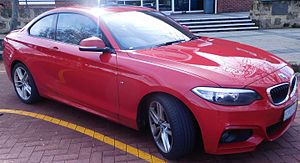 BMW 2 Series (F22) - Image: 2014 BMW 220d (F22) M coupé (2016 06 11) 01