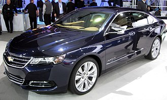 Full-size car - 2014-present Chevrolet Impala