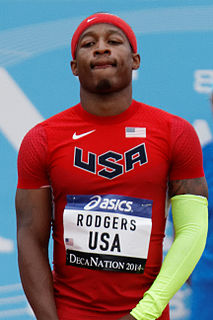 Mike Rodgers American sprinter
