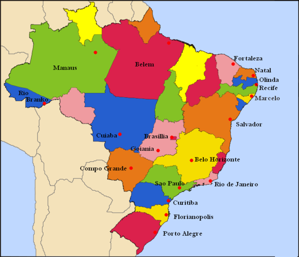 2014 Dünya Kupası'nın Yapılacağı Şehirler.png