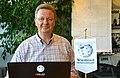 2015-10-27 Thomas Thomson, Vorsitzender vom Freundeskreis Knabenchor Hannover e.V., hier bei seiner Anmeldung bei Wikipedia im Wikipedia-Büro Hannover.jpg