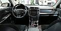 2015 Toyota Camry XSE interior.jpg