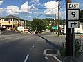 2016-06-25 18 05 01 View east along West Virginia State Route 9 (Cacapon Road) at Wilkes Street in Berkeley Springs (Bath), Morgan County, West Virginia.jpg