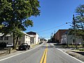 2016-09-27 11 53 08 View east along West Virginia State Route 51 (Washington Street) at Water Street in Charles Town, Jefferson County, West Virginia.jpg