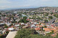 2016 Tbilisi, Widoki z Twierdzy Narikala (12).jpg