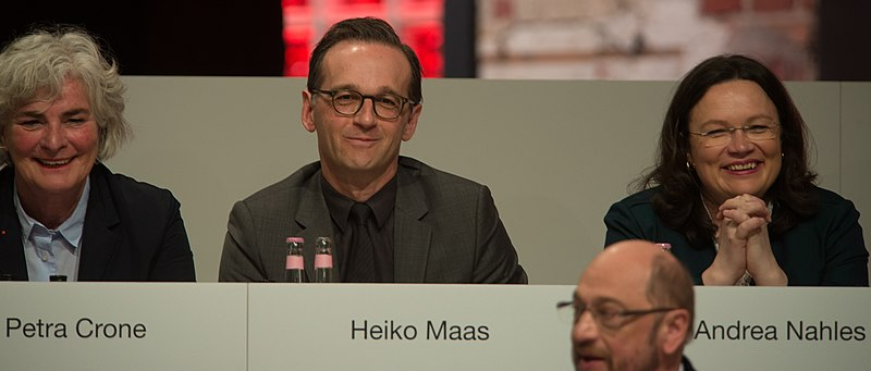 File:2017-03-19 Heiko Maas SPD Parteitag by Olaf Kosinsky-1.jpg
