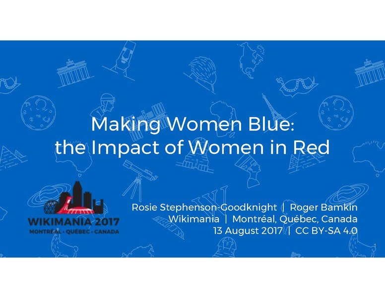File:2017 Wikimania - Making Women Blue.pdf