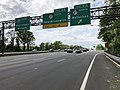 2018-05-20 14 54 46 View north along Interstate 287 (Middlesex Freeway) at Exit 2A (New Jersey State Route 27 NORTH, Metuchen) in Metuchen, Middlesex County, New Jersey.jpg