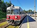 2018-07-04 EN71 of Przewozy Regionalne at Zakopane station.jpg