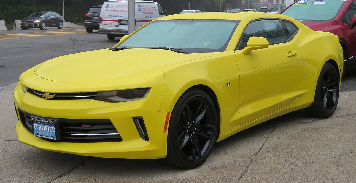 Black 2018 Ford Mustang >> Chevrolet Camaro - Wikipedia