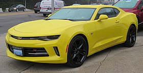 2018 Chevrolet Camaro RS coupe front 5.31.18.jpg