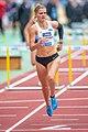 2018 DM Leichtathletik - 100-Meter-Huerden Frauen - Louisa Grauvogel - by 2eight - DSC7492.jpg