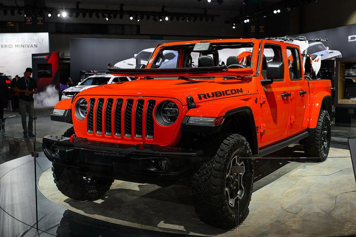 Jeep Gladiator (JT) - Wikipedia