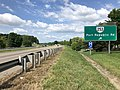 2019-06-06 10 36 27 View south along Interstate 81 at Exit 245 (Virginia State Route 253, Port Republic Road) in Harrisonburg, Virginia.jpg
