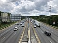 2019-07-18 14 31 34 View south along Interstate 695 (Baltimore Beltway) from the overpass for Crosby Road in Woodlawn, Baltimore County, Maryland.jpg