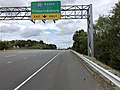 2019-10-07 14 39 26 View north along Virginia State Route 123 (Gordon Boulevard) at the exit for Interstate 95 SOUTH (Fredericksburg) in Woodbridge, Prince William County, Virginia.jpg