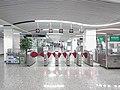 201908 North Exit Gate in Nanmendou Station Line 1 Concourse.jpg
