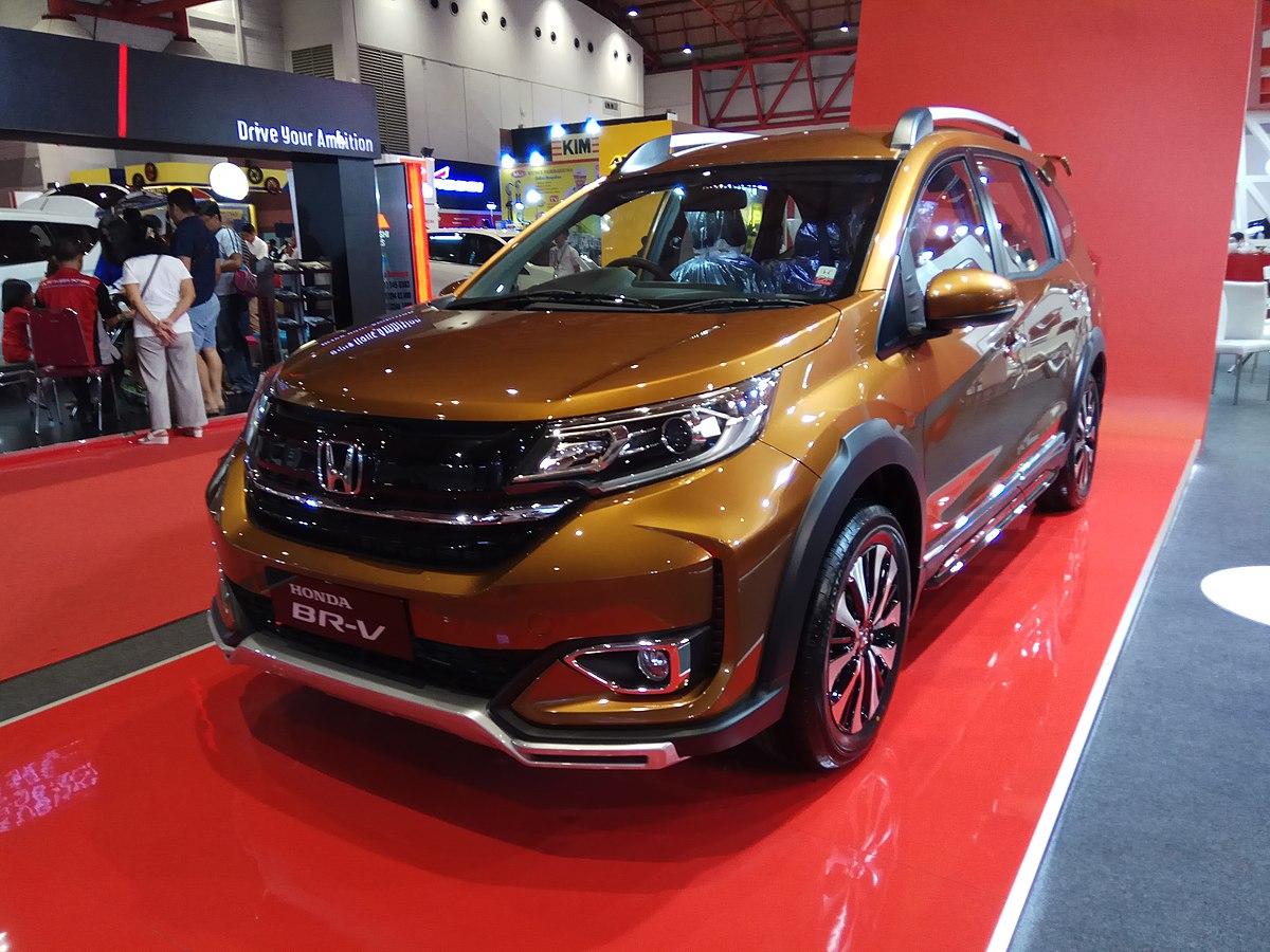 File:2019 Honda BR-V 1.5 Prestige (front left), 2019 ...