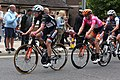 2019 Women's Tour stage 3 - 025 Christine Majerus and 023 Jolien D'Hoore in Didcot.JPG
