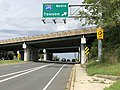 2020-08-03 15 52 29 View east along Maryland State Route 150 (Eastern Avenue-Boulevard) at the exit for Interstate 695 NORTH (Towson) in Dundalk, Baltimore County, Maryland.jpg