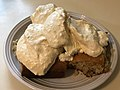 2021-02-15 19 43 34 Brownies and vanilla ice cream covered in maple butter in the Franklin Farm section of Oak Hill, Fairfax County, Virginia.jpg