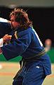 231000 - Judo Anthony Clarke fights Ian Rose 5 - 3b - Sydney 2000 match photo.jpg