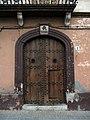 239 Cal Joan Mas (Sant Jaume dels Domenys), portal del c. Prat de la Riba.JPG