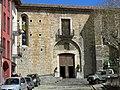 245 Santa Maria de Camprodon, façana sud, portalada.JPG