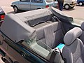 257 - February 1996 green Rover 100 Cabriolet 1.4, rear seats.jpg