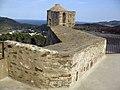 26 Fort de Sant Elm, terrassa superior, al fons Portvendres.jpg