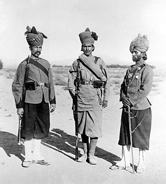 126th Baluchistan Infantry - Image: 26th (Baluchistan) Regiment, Bombay Infantry 1897