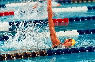 Priya Cooper - Image: 30 ACPS Atlanta 1996 Swimming Priya Cooper
