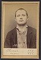 310. Olivier. Philippe, Octave. 25 ans, né le 29-6-68 à Paris XVIIle. Plombier. Anarchiste. 16-3-94. MET DP290675.jpg