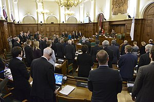 Baltic Assembly - 32nd session of the Baltic Assembly meeting in Riga