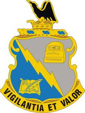 300th Military Intelligence Brigade (United States) - Image: 341 MI Bn DUI