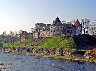 Bauska Town in Bauska Municipality, Latvia