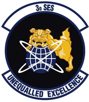 3d Space Experimentation Squadron - 3d Space Experimentation Squadron emblem