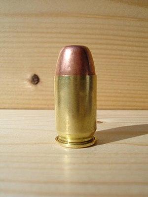 .45 GAP - Image: 45GAP Glock Automatic Pistol 002
