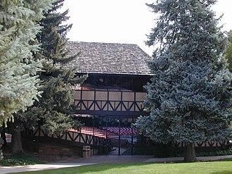 Utah Shakespeare Festival - West elevation of The Adams Theater