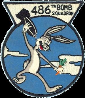486th Bombardment Squadron - SAC emblem, 1952-1970