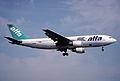53bz - Air Alfa Airbus A300B4-103; TC-ALN@ZRH;14.03.1999 (5126816140).jpg