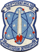 569th Strategic Missile Squadron - SAC - Emblem.png