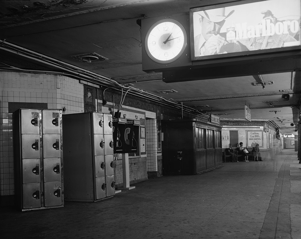 59th Street Columbus Circle station 1978