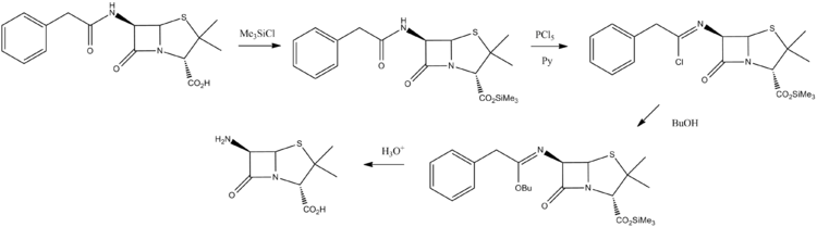 6-aminopenicillanic acid synthesis.png