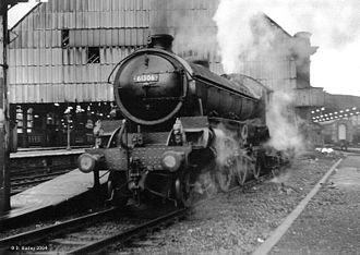 LNER Thompson Class B1 - 61306 (yet again) at Bradford Exchange