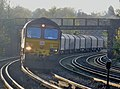 66139 6O32 Margam to Dollands Moor (then to Broekman Group in Rotterdam, the Netherlands or to Myriad in Maubeuge France) (17158373585).jpg