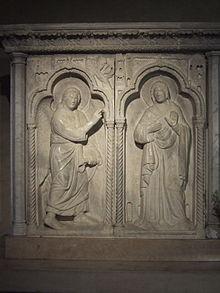 Abbazia di Sesto al Reghena - Annunciazione