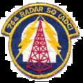 764th Radar Squadron - Emblem.png