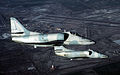 A-4E Skyhawks VF-43 in flight in 1983.JPEG